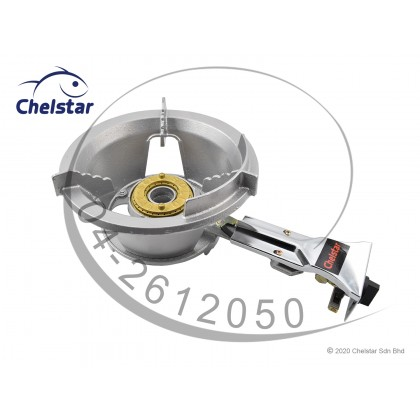 Chelstar High Pressure Cast Iron Gas Cooker / Stove (5E Auto)