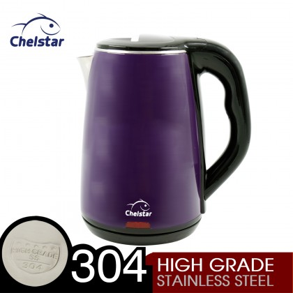 Chelstar 1.8L Cordless Electric Stainless Steel Jug Kettle (SK-18)