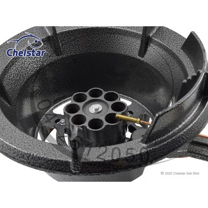 Chelstar High Pressure Cast Iron Gas Cooker / Stove (MS-131)