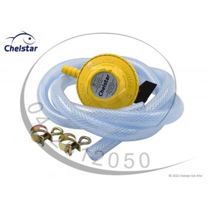 Chelstar Prepack Low Pressure Gas Regulator with SIRIM (Prepack CR-319E)