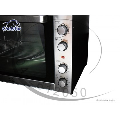 Chelstar 120L Electric Oven + Separate Upper Lower Temperature Control + 3 Cooking Function (CEO-120SD)