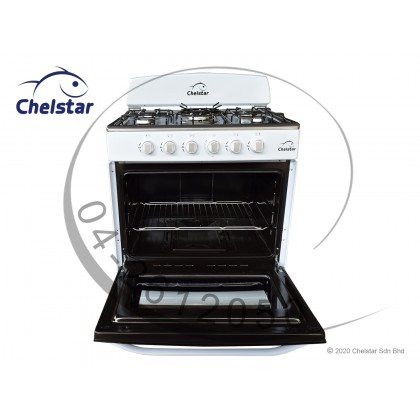 Chelstar 5 Burner Free Standing Cooker with Oven 120L (CSA-7070)