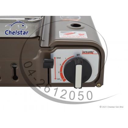 Chelstar Portable Butane BBQ Grill Gas Cooker / Stove (CPG-88)